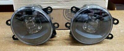 Black Fog Light Kit (Toyota Led Fog Light Upgrade Kit, Black Bezel, Genuine OEM Accessory )