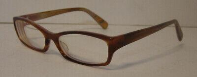 Paul Smith Womens Eyeglasses Frame Glasses Brown 55 16-130 PS-298 SYCLV EUC Rx