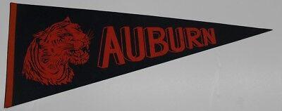 """1970s Vintage Auburn Tigers Pennant 30"""" Ex 42326"""