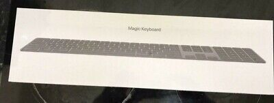 Apple Magic Keyboard with Numeric Keypad - Space Grey  BRAND NEW AND SEALED
