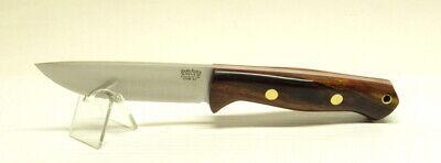 Bark River Knives Bravo 1 LT, CPM 3V, Desert Ironwood, Red Liners,Brass Pins #2b
