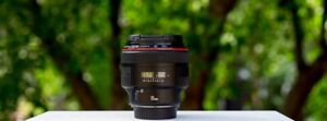 Canon EF 85mm 1.2 Version II L Lens - $1700