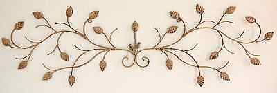 Iron Flower Wall Decor - Indoor/Outdoor Wall decor: Wrought Iron Flower  43