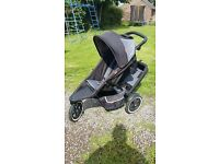 Phil n Teds Double Dash Pushchair inc Extras