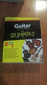 How to play guitar for dummies with CD.