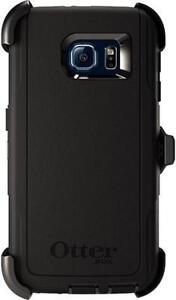 BNIB Original Authentic Genuine OEM Samsung Galaxy S6 OtterBox Defender Rugged Tough Heavy Duty Case & Belt Clip Holster
