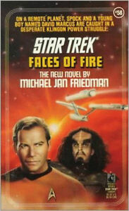 Star Trek-Faces Of Fire paperback