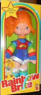 Rainbow Brite checklist (vintage dolls & plush only)