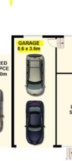 Storage or Workshop for Rent (8.6 * 3.6 meters) = 30.96 SQM