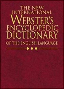 Webster Encyclopedic Dictionary