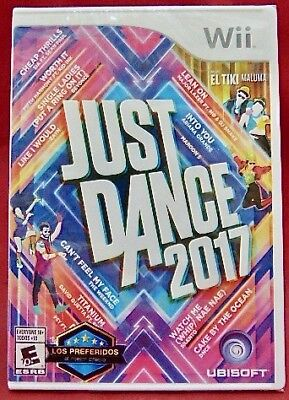 New Ubisoft Video Game Just Dance 2017 Wii