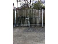 Galvanised gates & posts