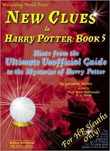▀▄▀New Clues to Harry Potter: Book 5
