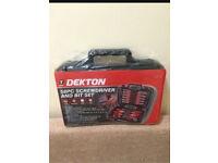 Dekton 58pc tool set screwdriver set