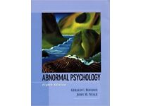 Abnormal Psychology (8th ed.) hardcover