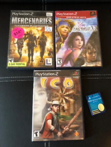 Various Sony PlayStation 2 (PS2) Games and Accessories