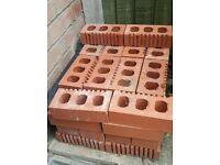 42 Perforated Red Engineering Bricks