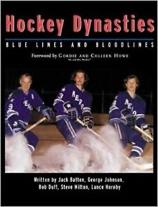 Hockey Dynasties, Blue lines and bloodlines hardcover reg $50!