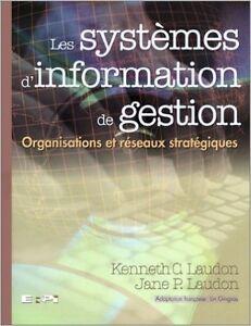 Les SYSTÈMES d'INFORMATION de GESTION Organisations et réseaux