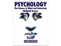 Psychology: The Science of Mind and Behaviour (4th edition) textbook