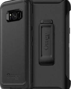 New Original OEM Samsung Galaxy S8+ OtterBox Defender Screenless Rugged Tough Heavy Duty Case & Belt Clip Holster