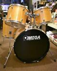 Omega shell-set drumset naturel
