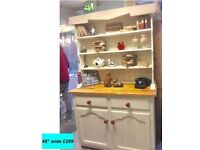 Vintage country shabby chic dresser