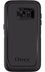 Black OtterBox Defender for Samsung Galaxy S7 Edge with Belt Clip