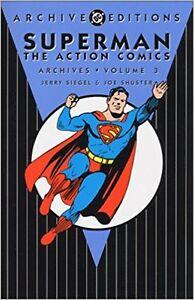 SUPERMAN ACTION COMICS DC ARCHIVES 3 Comic Books