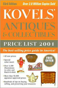 Kovel's Antiques & Collectibles Price Guide 2001