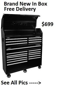 Husky 60-inch 18-Drawer Tool Chest and Cabinet Set - BNIB