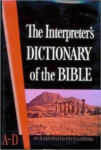 The Interpreters Dictionary of the Bible, 5 volumes