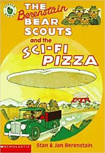 NEW BERENSTAIN BEAR SCOUTS AND THE SCI-FI PIZZA PAPERBACK NOVEL