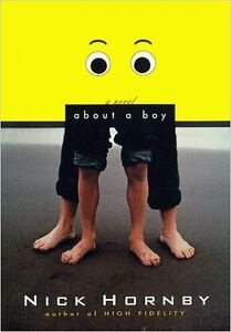 Nick Hornby-About a Boy book-softcover/nice copy + bonus