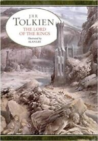 ILLUSTRATED LORD OF THE RINGS HARD-BACK BOOK - NEW