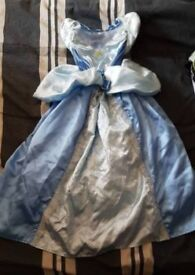 Cinderella world book day dress up costume 7-8 years