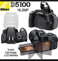 Nikon D5100 DSLR - MINT CONDITION