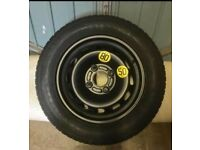 Spare wheel tyre and jack kit Ford