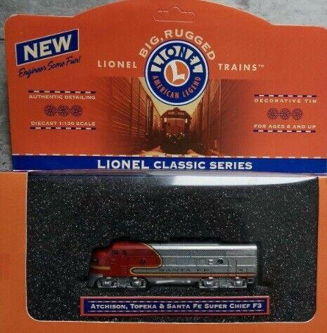 Lionel 7-91002 1:120 Atchison, Topeka & Santa Fe F3 Series 1 w/Decrative Tin