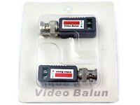 AHD CVI TVI Coax CAT5 CCTV Camera Passive BNC Video Balun to UTP Connector Transceiver