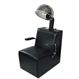 Salon hair dryer and chair