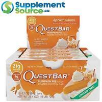 Quest BARS, 12 Bars/Box - Pumpkin Pie