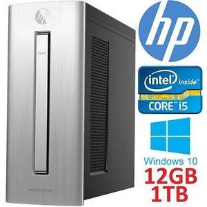 REFURB HP ENVY MINI DESKTOP PC - 113320244 - INTEL CORE i5-6400 12GB RAM 1TB HDD WINDOWS 10 COMPUTER