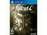 Fall out 4 and call of duty advance warfare ps4