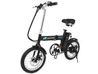 mini e bike electric bicycle as new mint