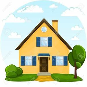 LOOKING for duplex or house rental