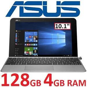 "USED ASUS TF MINI 2IN1 NOTEBOOK PC - 123947073 - 10.1"" INTEL Z8350 18GB eMMC 4GB RAM WIN10 TRANSFORMER LAPTOP COMPUTE..."