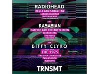 2x Friday day tickets to TRNSMT festival Glasgow 07/07/17 - LESS THAN FACE VALUE