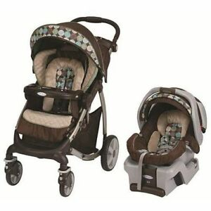 Graco Quattro Snugride 35 - Car Seat and Stroller Combo