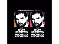 Drake Tickets x2 - O2 LONDON - 28th Jan